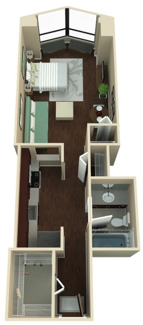 Studio, Near East Side Rental in Chicago, IL for $1,505 - Photo 1