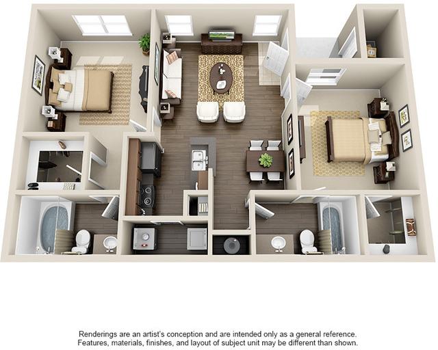 2 Bedrooms, Kingwood Rental in Houston for $1,153 - Photo 1