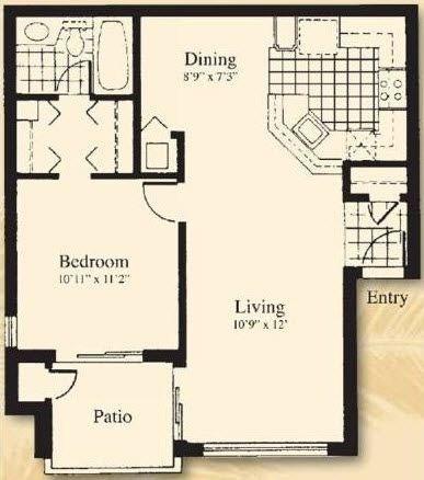 1 Bedroom, Plantation Rental in Miami, FL for $1,186 - Photo 1