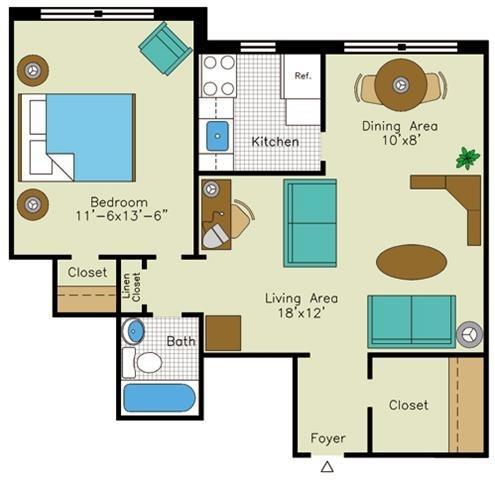 1 Bedroom, Cleveland Park Rental in Washington, DC for $2,015 - Photo 1