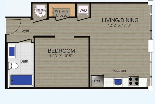 1 Bedroom, Logan Circle - Shaw Rental in Washington, DC for $2,095 - Photo 1
