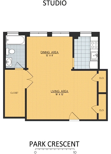 1 Bedroom, Lanier Heights Rental in Washington, DC for $1,130 - Photo 1