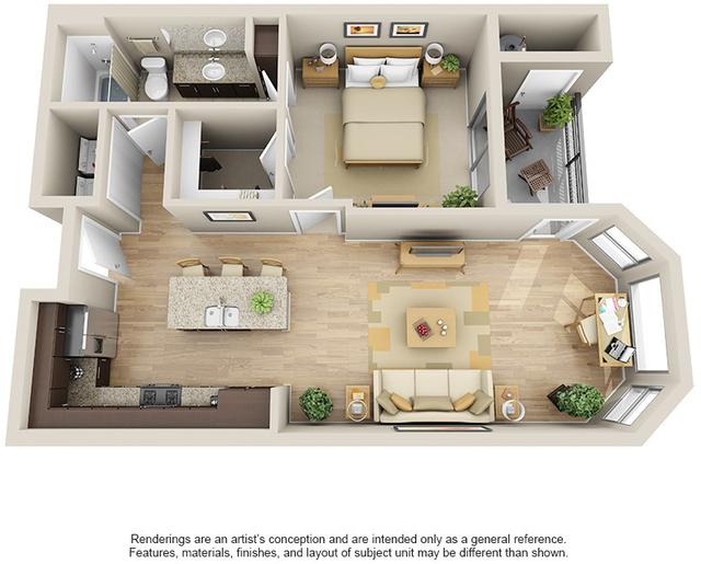 1 Bedroom, Maricopa Rental in Phoenix, AZ for $1,300 - Photo 1