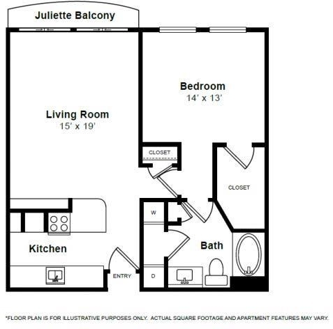 1 Bedroom, Uptown Rental in Dallas for $1,340 - Photo 1