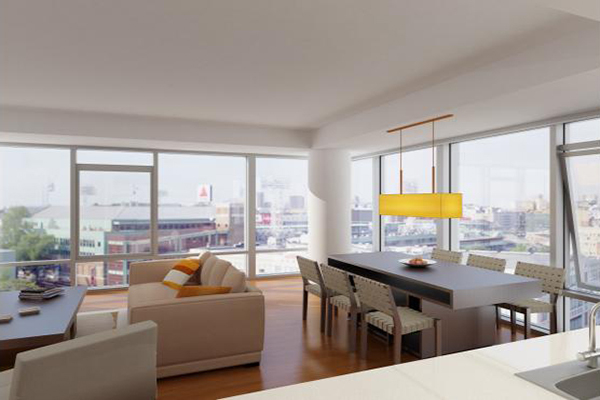 2 Bedrooms, West Fens Rental in Boston, MA for $5,176 - Photo 2