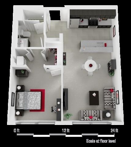 1 Bedroom, Arts District Rental in Los Angeles, CA for $2,095 - Photo 1