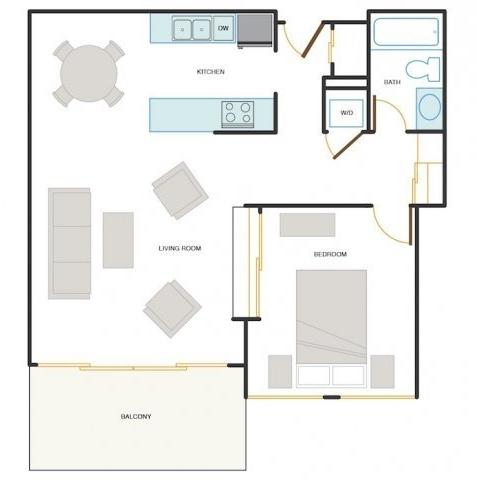1 Bedroom, Central Rental in San Francisco Bay Area, CA for $2,820 - Photo 1