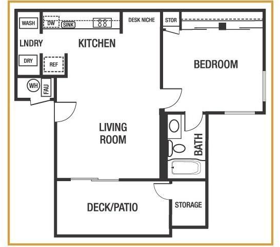 1 Bedroom, Contra Costa Rental in San Francisco Bay Area, CA for $1,675 - Photo 1