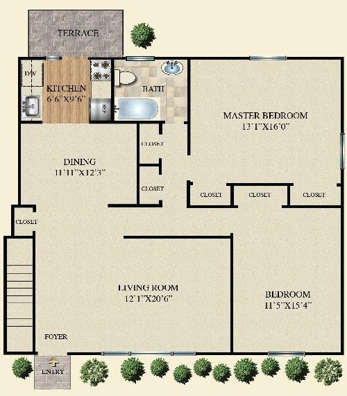 2 Bedrooms, Bohemia Rental in Long Island, NY for $2,065 - Photo 1