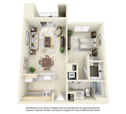 2 Bedrooms, University Center Rental in Washington, DC for $1,262 - Photo 1