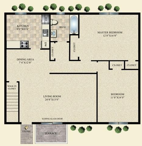 2 Bedrooms, Babylon Rental in Long Island, NY for $2,260 - Photo 1