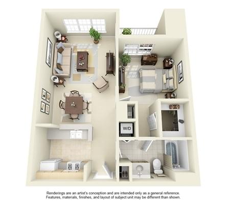 1 Bedroom, University Center Rental in Washington, DC for $1,266 - Photo 1