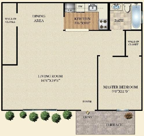 1 Bedroom, Bohemia Rental in Long Island, NY for $1,500 - Photo 1