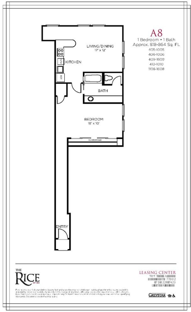1 Bedroom, Downtown Houston Rental in Houston for $1,405 - Photo 1