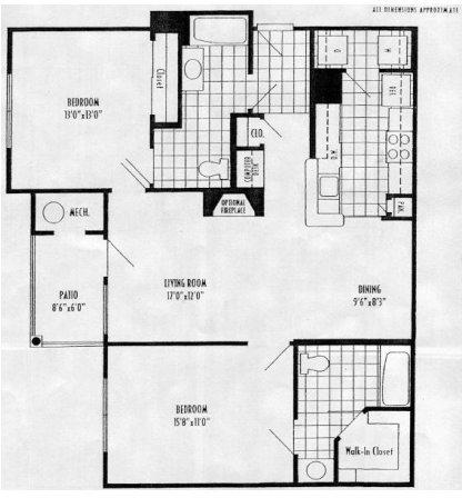 2 Bedrooms, Burlington Rental in Philadelphia, PA for $1,554 - Photo 1