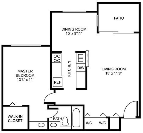 1 Bedroom, Moors Cluster Homes Rental in Miami, FL for $1,324 - Photo 1