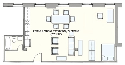 1 Bedroom, Lower Roxbury Rental in Boston, MA for $2,300 - Photo 1
