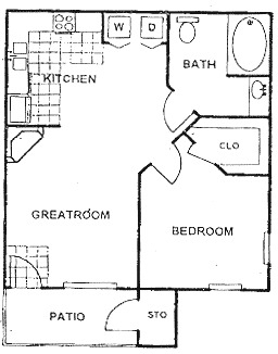1 Bedroom, Kingwood Rental in Houston for $855 - Photo 1