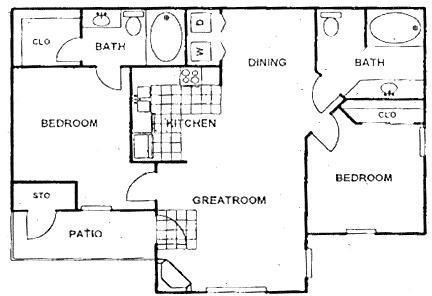 2 Bedrooms, Kingwood Rental in Houston for $1,100 - Photo 1