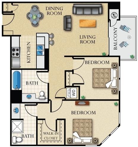 2 Bedrooms, Westlake North Rental in Los Angeles, CA for $2,199 - Photo 1