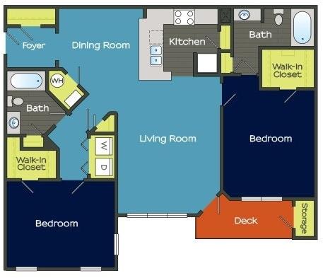 2 Bedrooms, Fulton Rental in Atlanta, GA for $1,548 - Photo 1