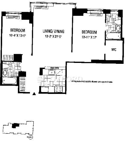 2 Bedrooms, Financial District Rental in NYC for $5,740 - Photo 1