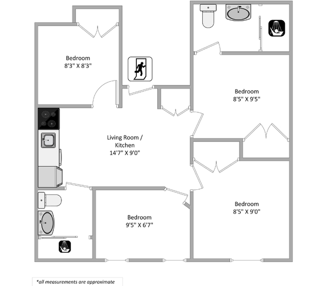 4 Bedrooms, Alphabet City Rental in NYC for $4,090 - Photo 2