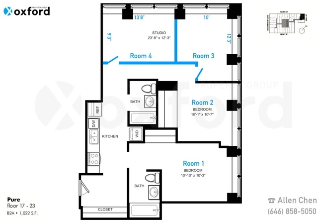 Room, Financial District Rental in NYC for $1,596 - Photo 2
