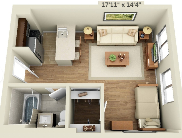 Studio, Chelsea Rental in NYC for $3,448 - Photo 2
