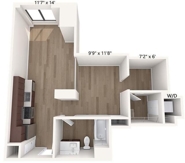 Studio, Chinatown - Leather District Rental in Boston, MA for $3,000 - Photo 1