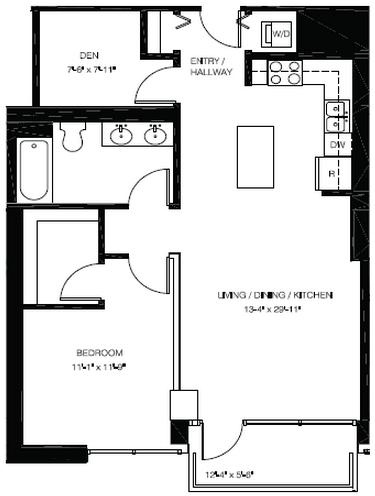 1 Bedroom, South Loop Rental in Chicago, IL for $2,345 - Photo 2
