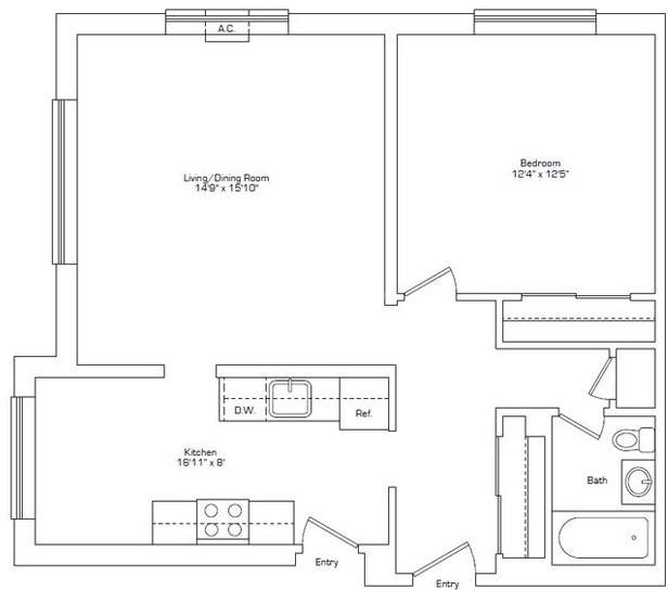 1 Bedroom, Arlington Center Rental in Boston, MA for $2,000 - Photo 2