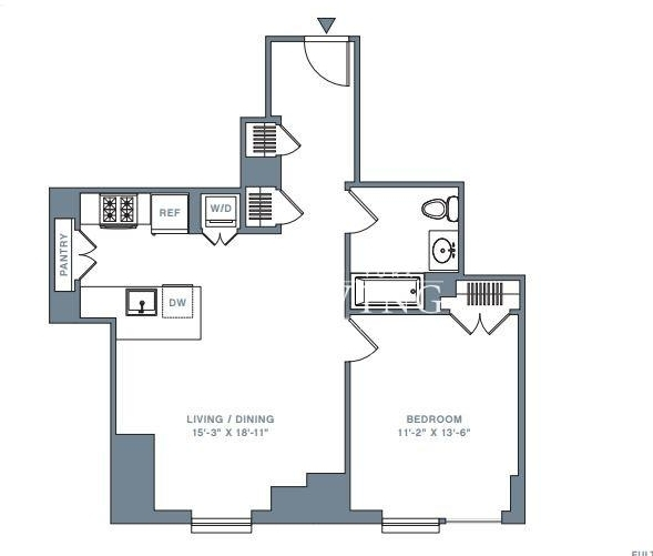 2 Bedrooms, Financial District Rental in NYC for $6,570 - Photo 2