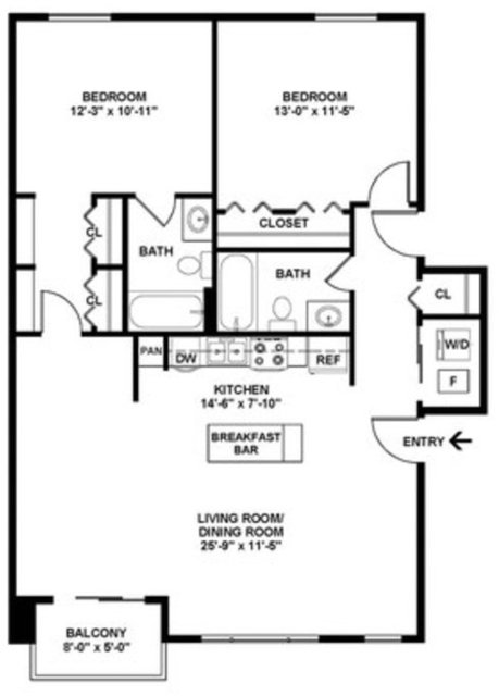 2 Bedrooms, Ravenswood Rental in Chicago, IL for $2,365 - Photo 2