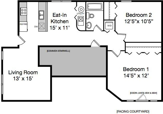 2 Bedrooms, Hyde Park Rental in Chicago, IL for $1,581 - Photo 2