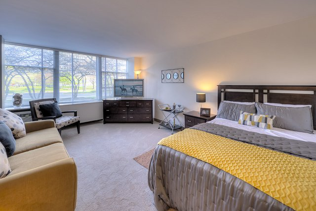 1 Bedroom, Prairie Shores Rental in Chicago, IL for $1,344 - Photo 1