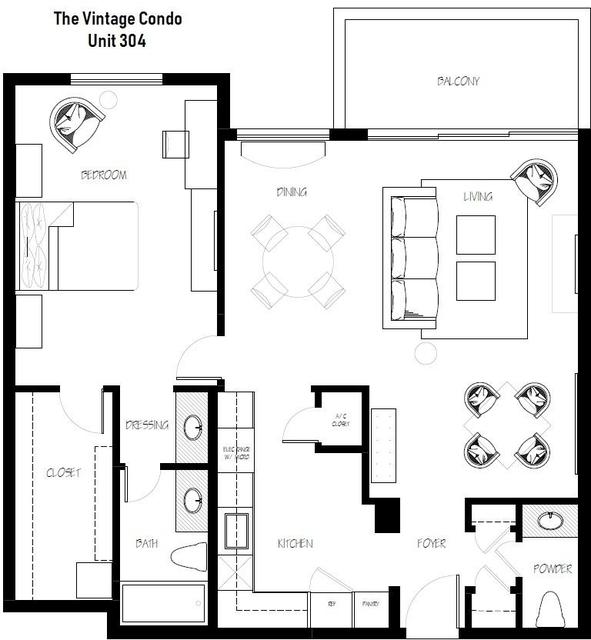 1 Bedroom, Bay Harbor Islands Rental in Miami, FL for $2,200 - Photo 2