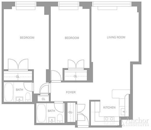 2 Bedrooms, Upper East Side Rental in NYC for $6,225 - Photo 2