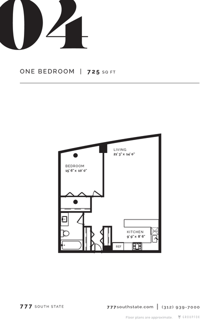 1 Bedroom, South Loop Rental in Chicago, IL for $1,915 - Photo 2