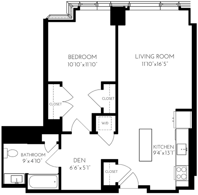1 Bedroom, Seaport District Rental in Boston, MA for $4,527 - Photo 1
