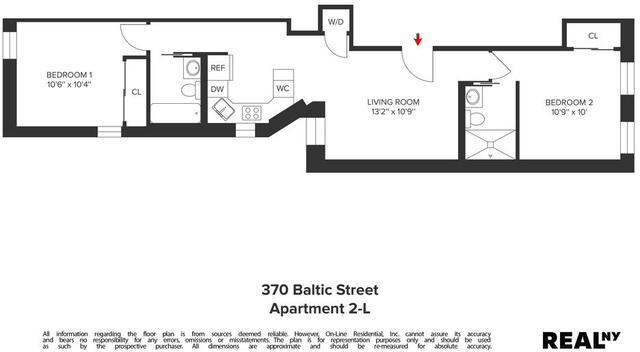 2 Bedrooms, Boerum Hill Rental in NYC for $4,150 - Photo 2