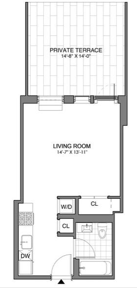 Studio, Williamsburg Rental in NYC for $3,395 - Photo 2