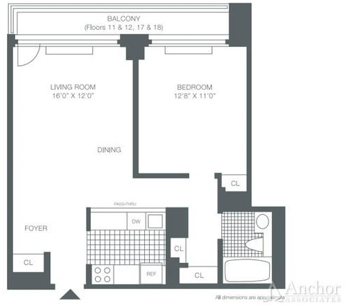 1 Bedroom, Roosevelt Island Rental in NYC for $2,538 - Photo 2