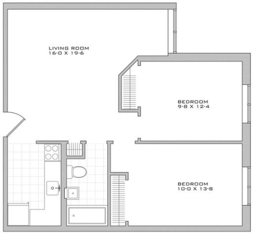 2 Bedrooms, Alphabet City Rental in NYC for $4,083 - Photo 2