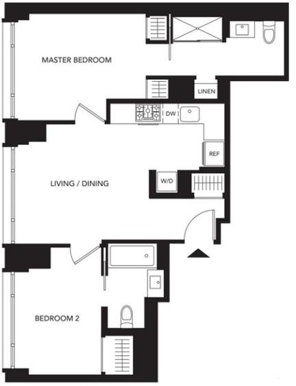 2 Bedrooms, Murray Hill Rental in NYC for $5,411 - Photo 2