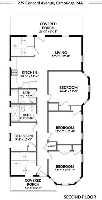 4 Bedrooms, Neighborhood Nine Rental in Boston, MA for $4,775 - Photo 1