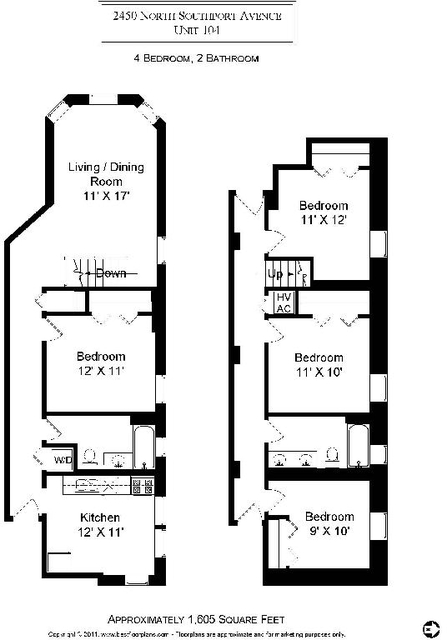 4 Bedrooms, West De Paul Rental in Chicago, IL for $3,500 - Photo 2