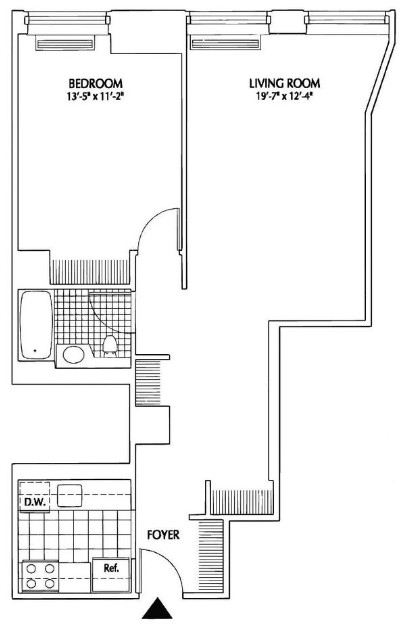 1 Bedroom, Financial District Rental in NYC for $3,798 - Photo 1