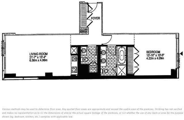 1 Bedroom, Midtown East Rental in NYC for $5,150 - Photo 2