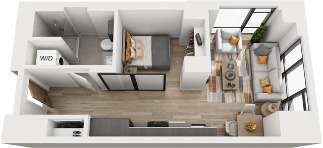 Studio, Shawmut Rental in Boston, MA for $2,696 - Photo 1